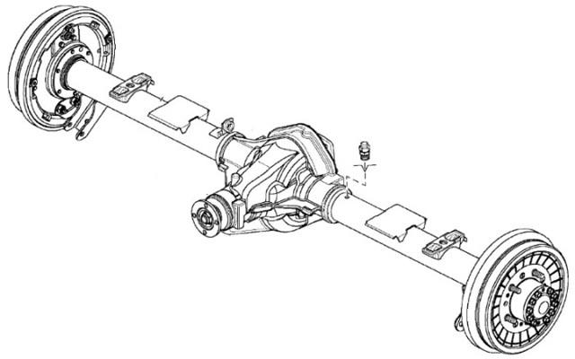 Передний мост на УАЗ Патриот: устройство