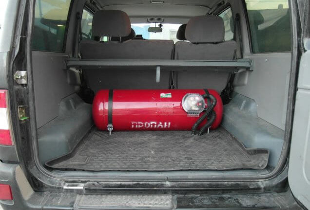 ГБО для УАЗ Патриот: выбор оборудования, монтаж и особенности