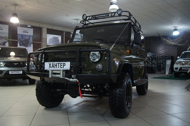 Силовой бампер на УАЗ Патриот: предназначение