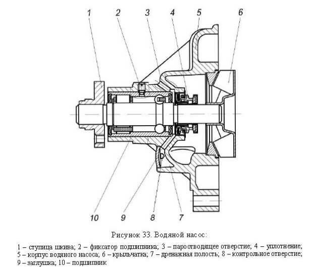Помпа на УАЗ: особенности замены или ремонта