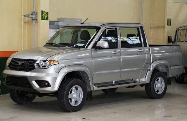УАЗ Пикап 2019: интерьер и экстерьер автомобиля, комплектации и цены, конкуренты, отзывы
