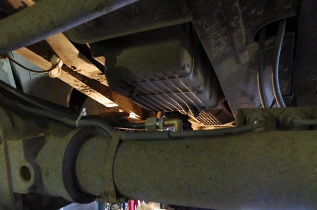 Вывод сапунов в подкопанное пространство УАЗ Патриот
