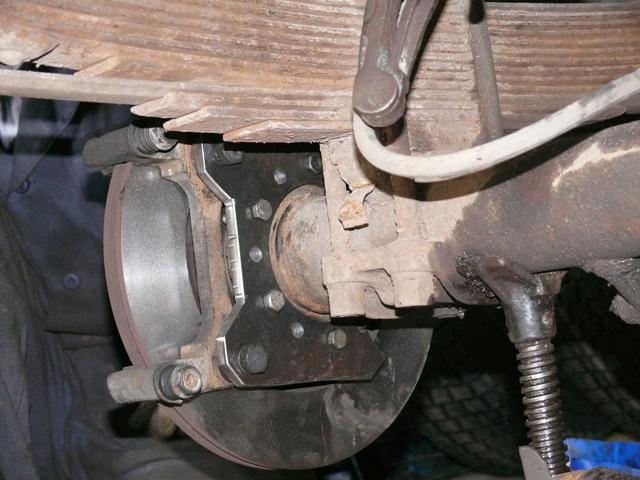 Дисковые тормоза на УАЗ Патриот задние: установка своими руками